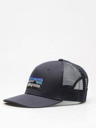 Ku0161iltovka  Patagonia P6 Logo Trucker ZD (navy blue w/navy blue)
