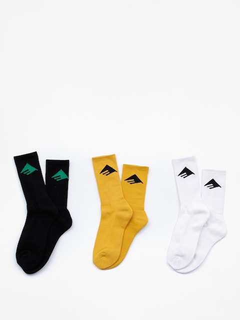Ponožky Emerica Pure 3 Pack