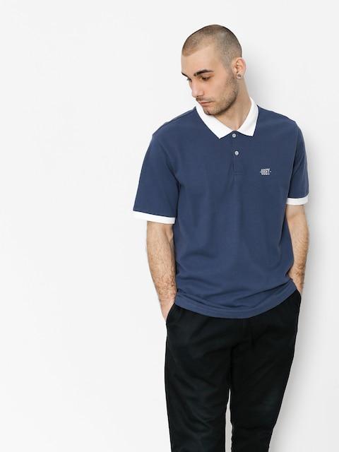 Polo tričko OBEY No Coast (bmu)