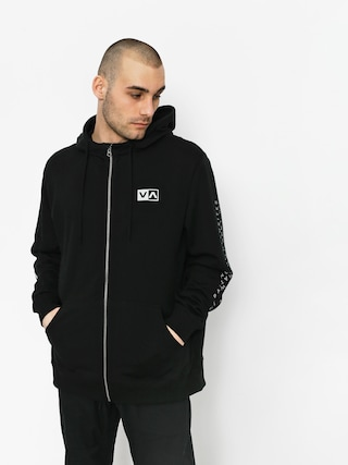Mikina s kapucí RVCA Balance Reflect ZHD (black)
