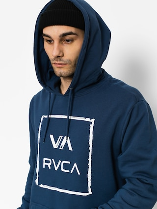 Mikina s kapucí RVCA Va All The Way HD (classic indigo)
