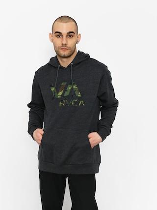 Mikina s kapucí RVCA Va Rvca HD (charcoal heather)
