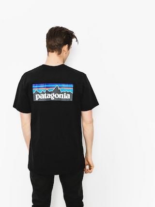 Triu010dko Patagonia P6 Logo Responsibili (black)