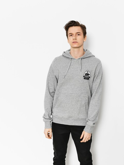 Mikina s kapucí Element Arrow HD (grey heather)