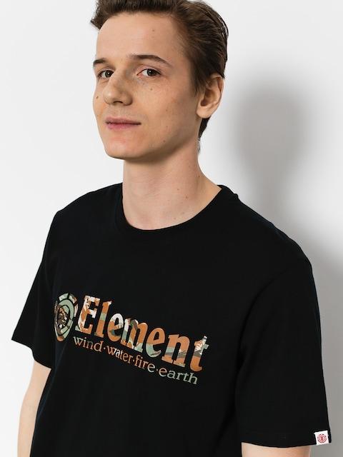 Tričko Element Horizontal Fill (flint black)