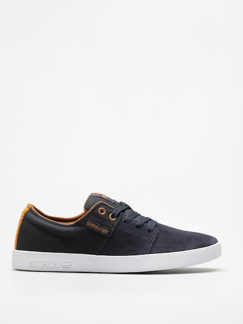 Boty Supra Stacks II (navy/tan white)