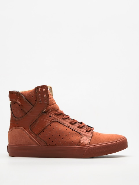 Boty Supra Skytop (brown patina)