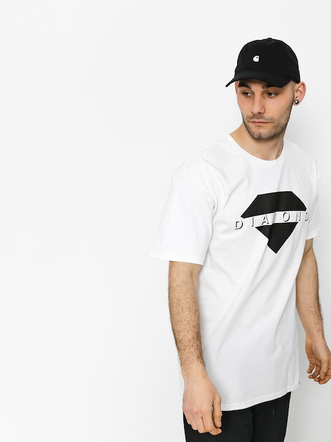 Tričko Diamond Supply Co. Viewpoint (white)