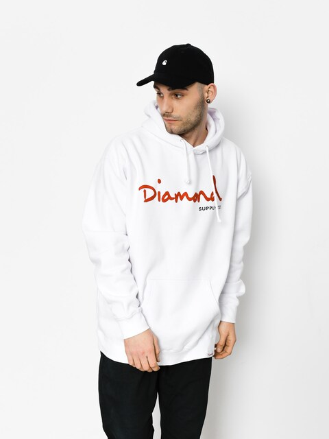 Mikina Diamond Supply Co. Og Script (white)