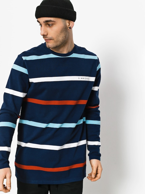 Triko Diamond Supply Co. Paradise Striped (navy)