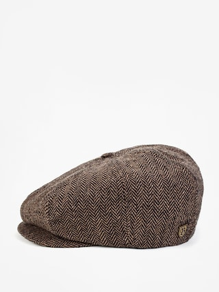 Klobouk s kšiltem Brixton Brood Snap ZD (brown/khaki)
