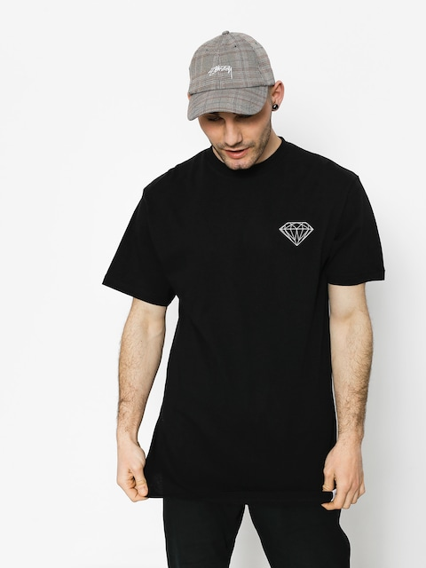 Tričko Diamond Supply Co. Brilliant (black)