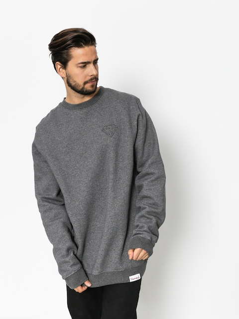 Mikina Diamond Supply Co. Brilliant (gunmetal heather)