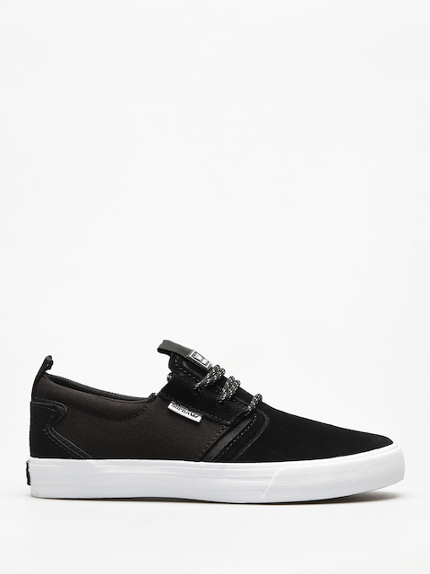 Boty Supra Flow (black/black white)