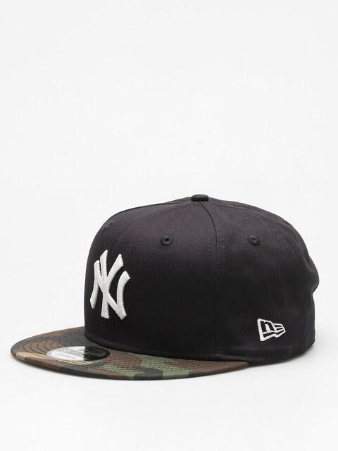 Kšiltovka  New Era Team Camo 950 New York Yankees ZD (navy/woodland camo)