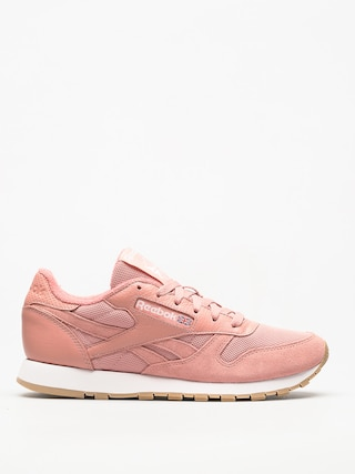 Boty Reebok Cl Leather Estl Wmn (chalk pink/white)
