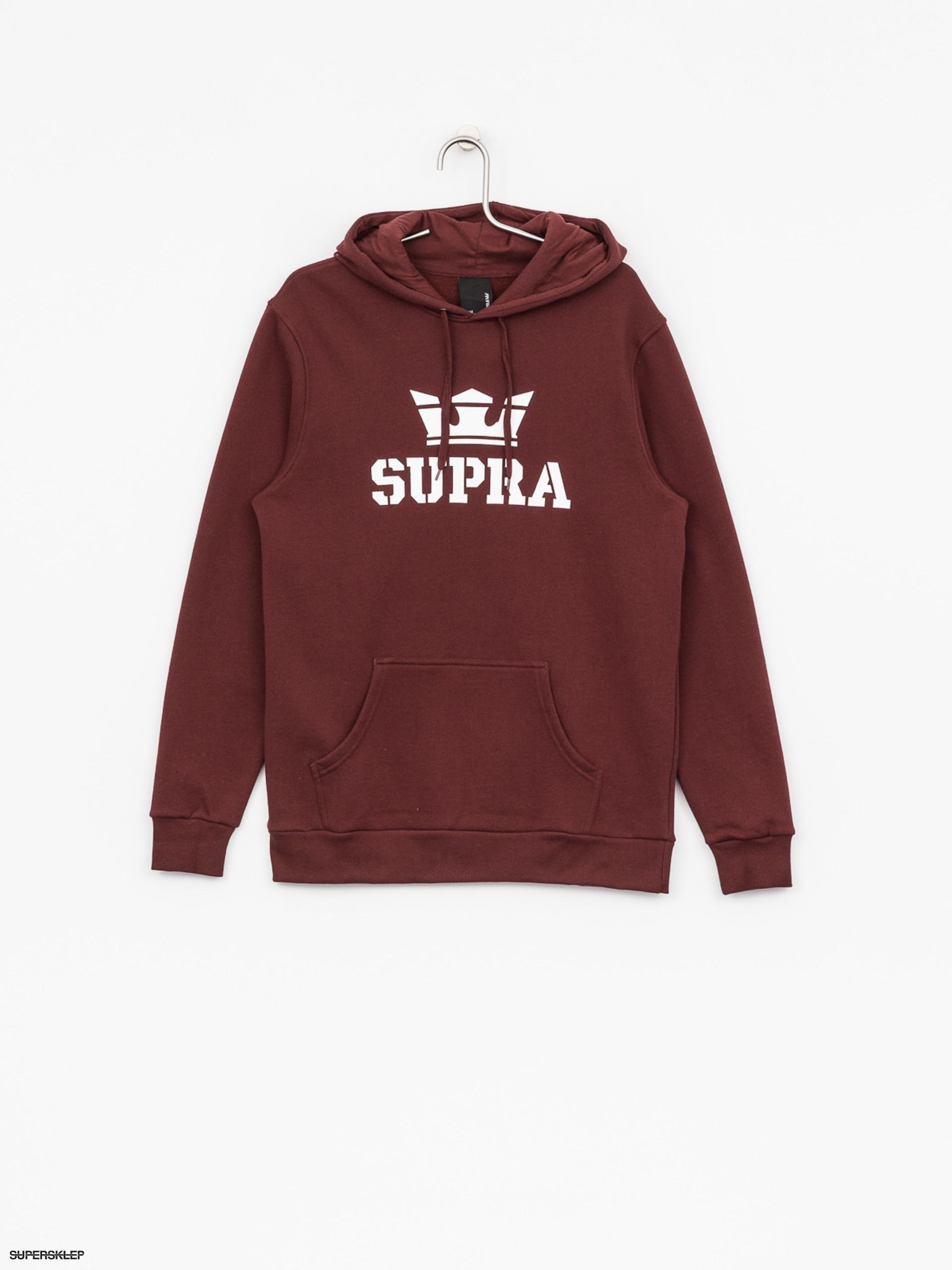 Mikina s kapucí Supra Above HD (andorra white) 33b7c6867e8