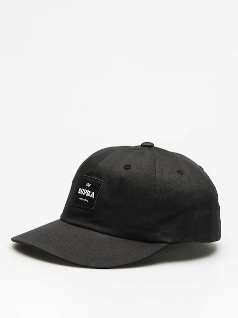 Kšiltovka  Supra Label Slider ZD (black)
