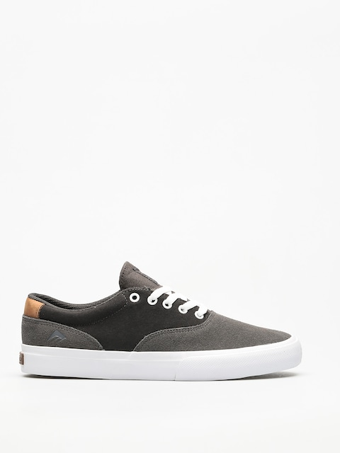 Boty Emerica Provost Slim Vulc (grey/dark grey/gold)