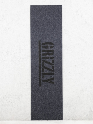Grip Grizzly Griptape Stamp (black)