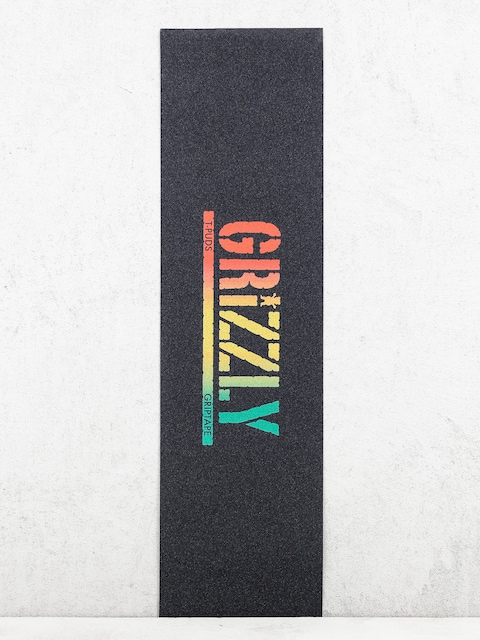 Grip Grizzly Griptape T Puds Rusta Stamp (rasta)