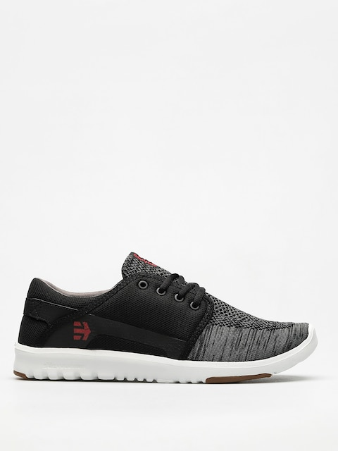 Boty Etnies Scout Yb (black/dark grey/red)
