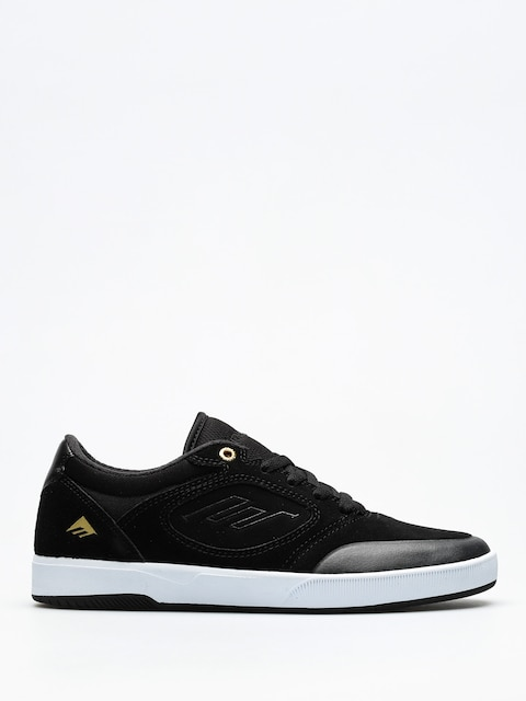 Boty Emerica Dissent (black/white/gold)