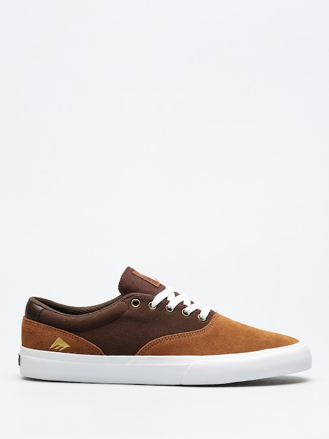 Boty Emerica Provost Slim Vulc (tan/brown/white)