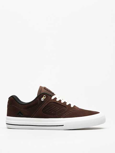 Boty Emerica Reynolds 3 G6 Vulc (brown/white)