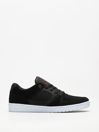 Boty Es Accel Slim (black/white/red)