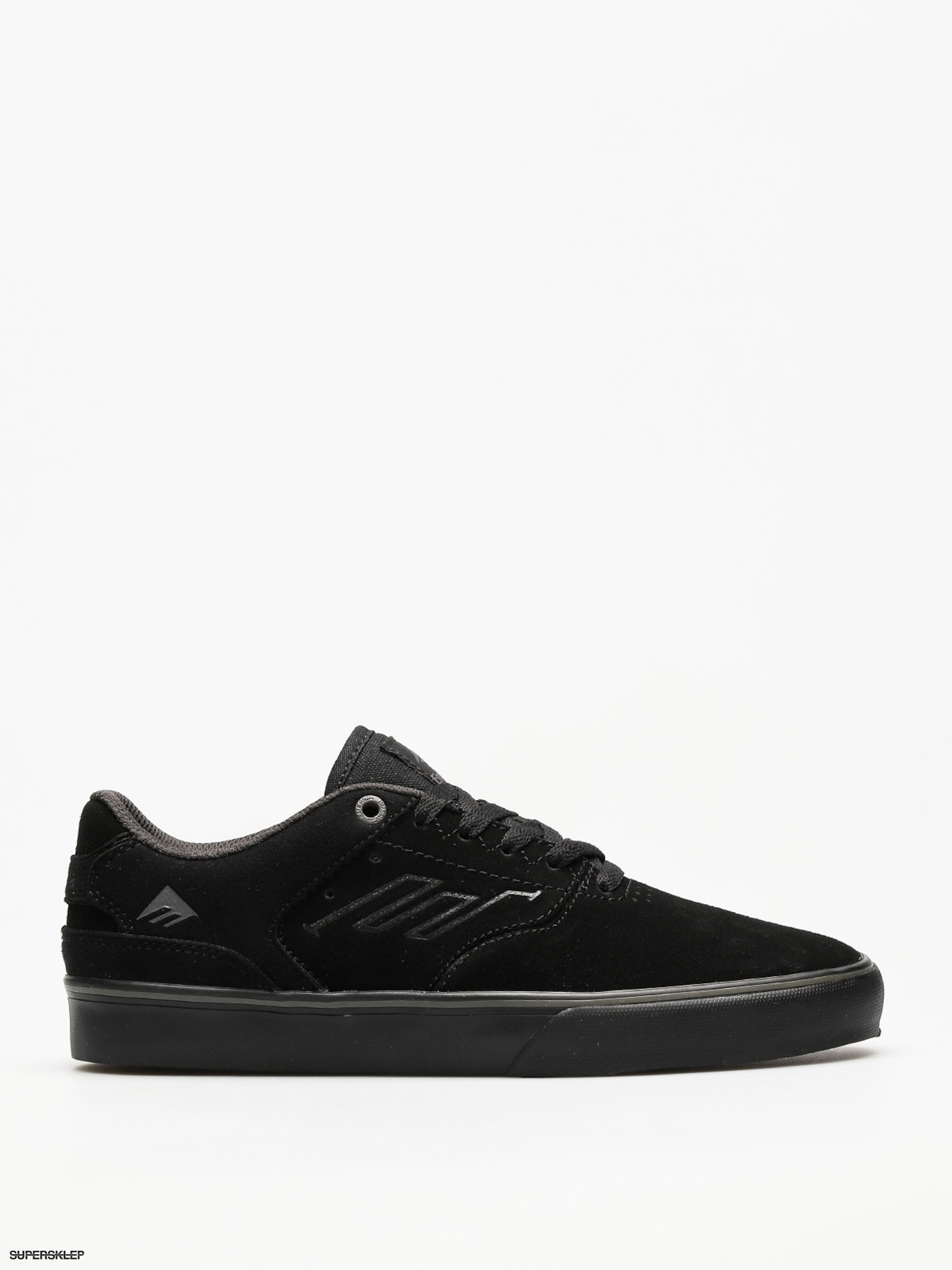 Boty Emerica The Reynolds Low Vulc (black/black/grey)