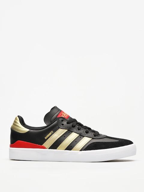 Boty adidas Busenitz Vulc Rx (core black/gold met./scarlet)