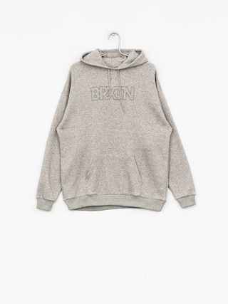 Mikina s kapucí Brixton Edison HD (heather grey)