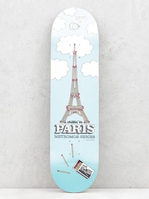 Deska Mob Skateboards Paris (blue)