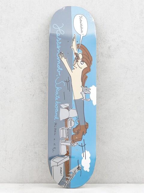 Deska Mob Skateboards Muehlheim (blue/grey)