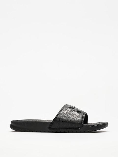 Plážovky Nike Benassi Just Do It (black/black black)