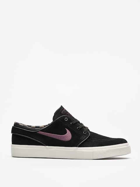 Boty Nike SB Zoom Stefan Janoski (black/pro purple ridgerock light bone)