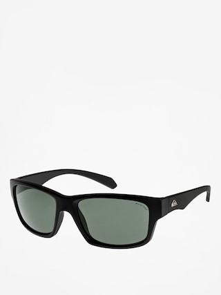 Sluneční brýle Quiksilver Off Road (black/plz green)
