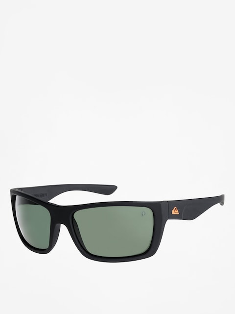 Sluneční brýle Quiksilver Hideout Plz (matte black/green p)
