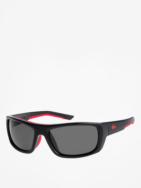 Sluneční brýle Quiksilver Knockout (shiny black red/gre)