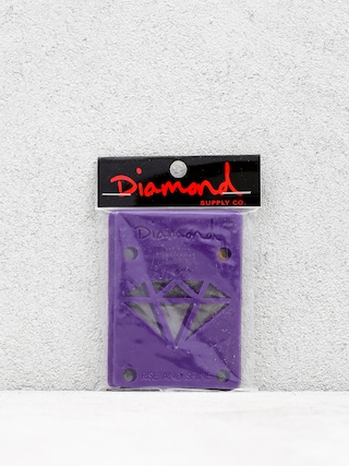 Podložky Diamond Supply Co. Rise & Shine Risers (purple)