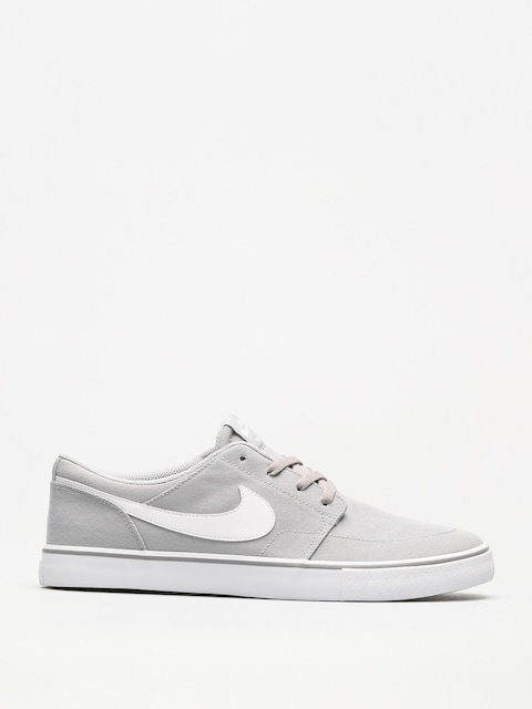 Boty Nike SB Sb Solarsoft Portmore II Canvas (wolf grey/white black)