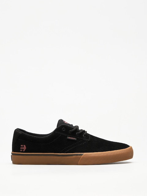 Boty Etnies Jameson Vulc (black/tan/red)