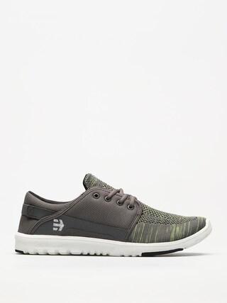 Boty Etnies Scout Yb (grey/green)