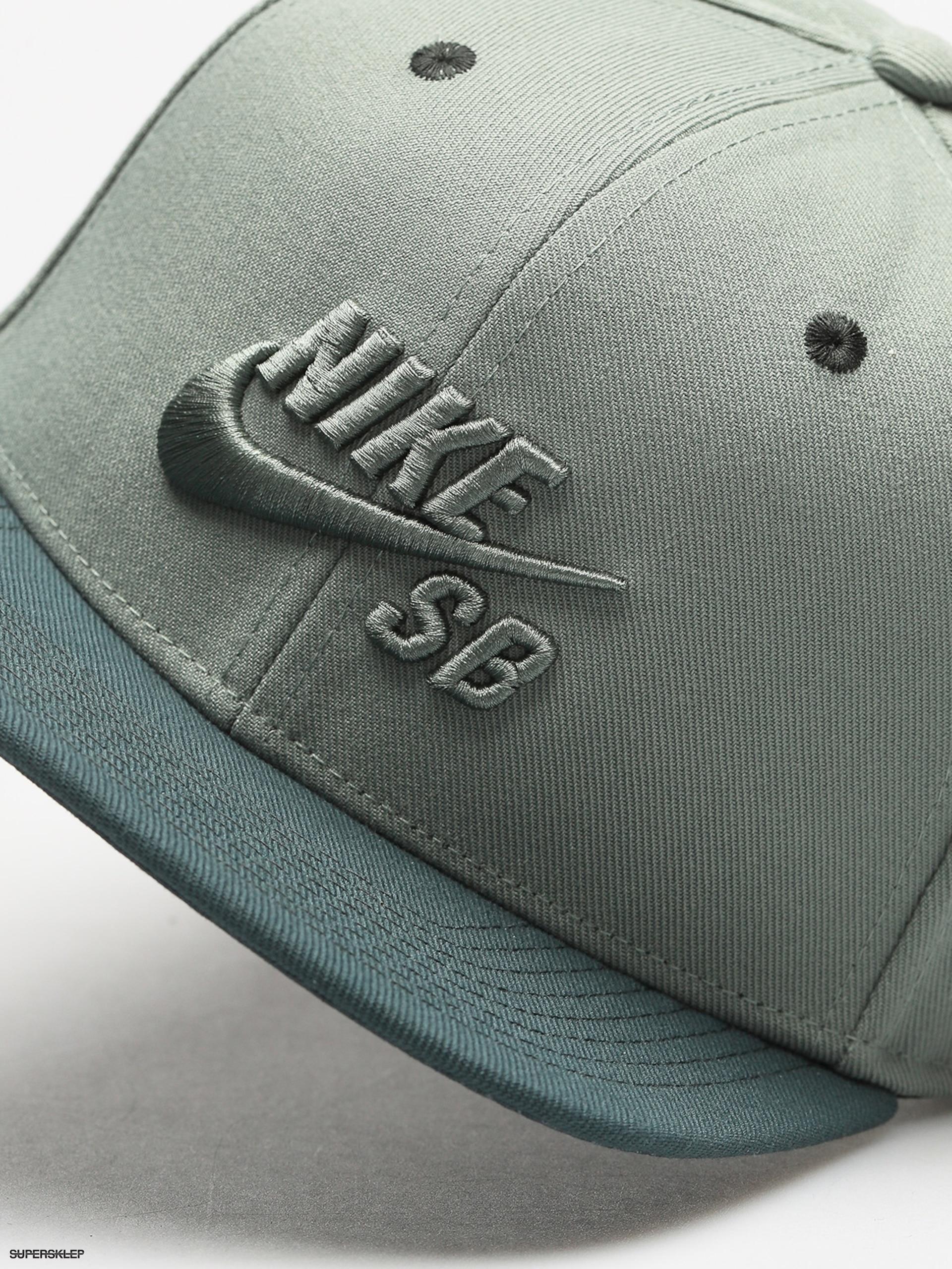 b60d8c0025c Kšiltovka Nike SB Sb Icon Snapback ZD (clay green deep jungle clay green)