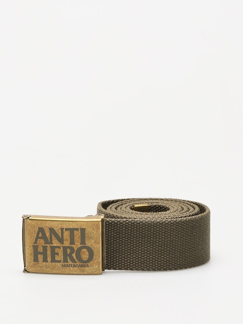 Pásek Antihero Black Hero (bras/army green)