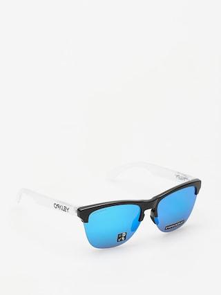 Sluneu010dnu00ed bru00fdle Oakley Frogskins Lite (matte black/matte clear/prizm sapphire iridium)