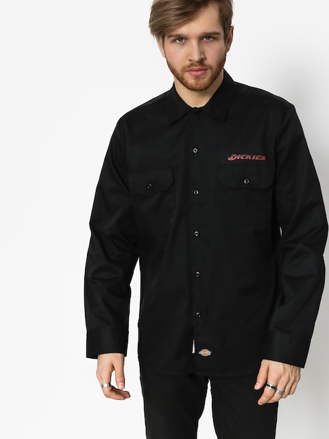 Košile Dickies Mentone (black)