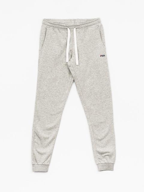 Kalhoty Fila Classic Slim (light grey melange bros)
