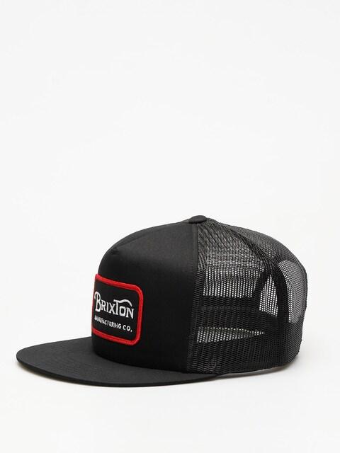 Kšiltovka  Brixton Grade Mesh ZD (black)